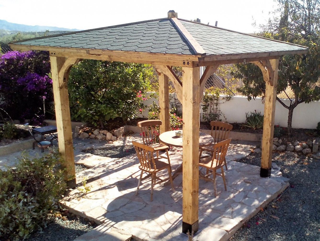 Products Wood Carport Hip Roof