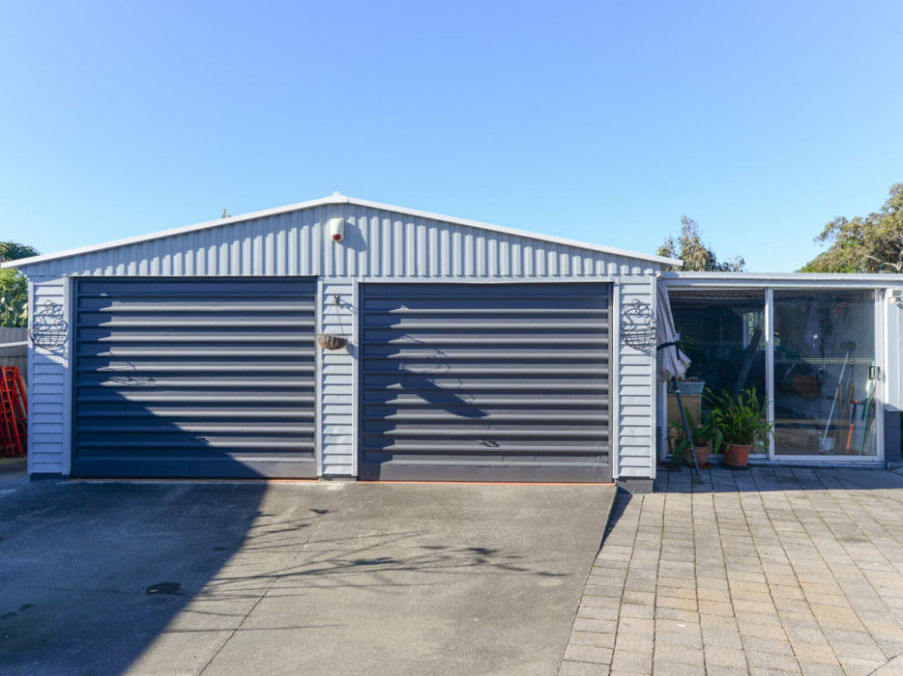 Properties For Sale Three Car Garaging, Workshop And ..