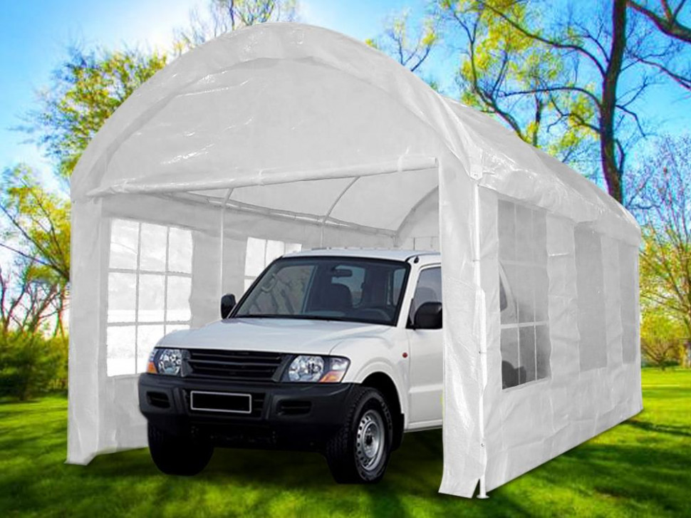 Quictent® 20 x10 Heavy Duty Carport Garage Car Shelter ...