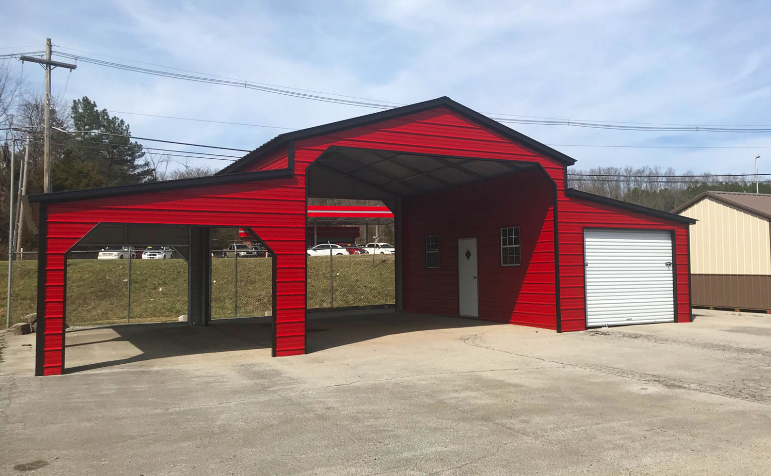 R&R Buildings Oak Ridge | Carolina Carports | Metal Carports ..