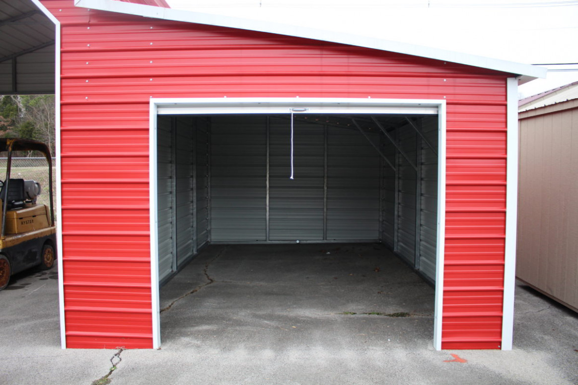 R&R Buildings Oak Ridge | Metal Carports | Storage Buildings Garage With Carports