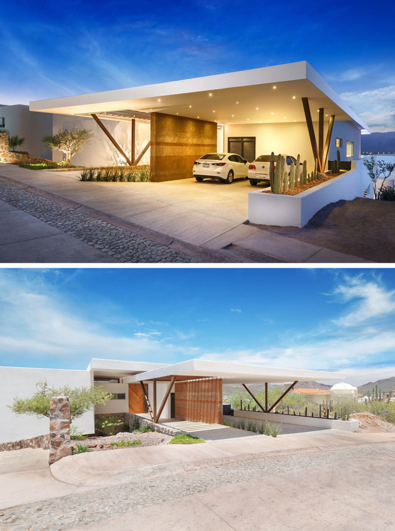 Rammed Earth Walls And Amazing Views Are Features Of This ..