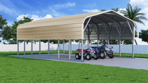 Regular Roof Steel Carports | Metal Carport | Car Ports ..