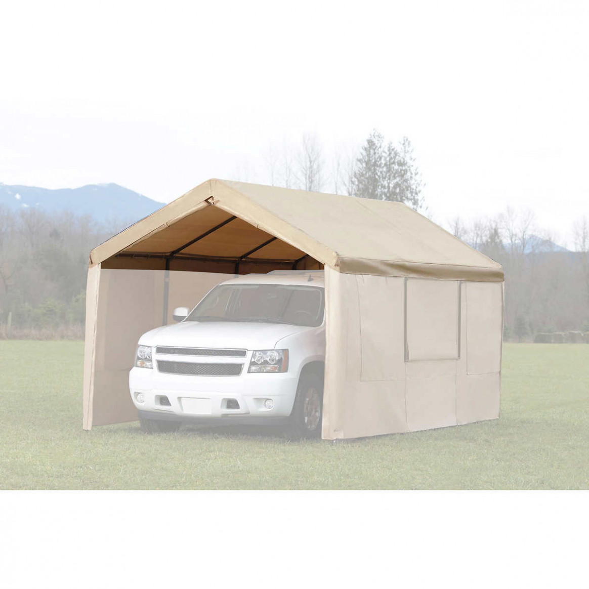 Replacement Canopy Roof Cover 13 Ft X 13 Ft Carport Tent Roof