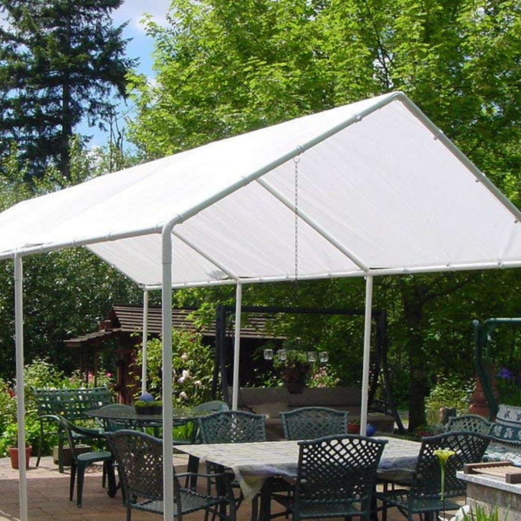 REPLACEMENT CANOPY TENT 13x13' Carport Cover Tarp Patio Backyard Sun Shelter NEW Carport Canopy Replacement Parts