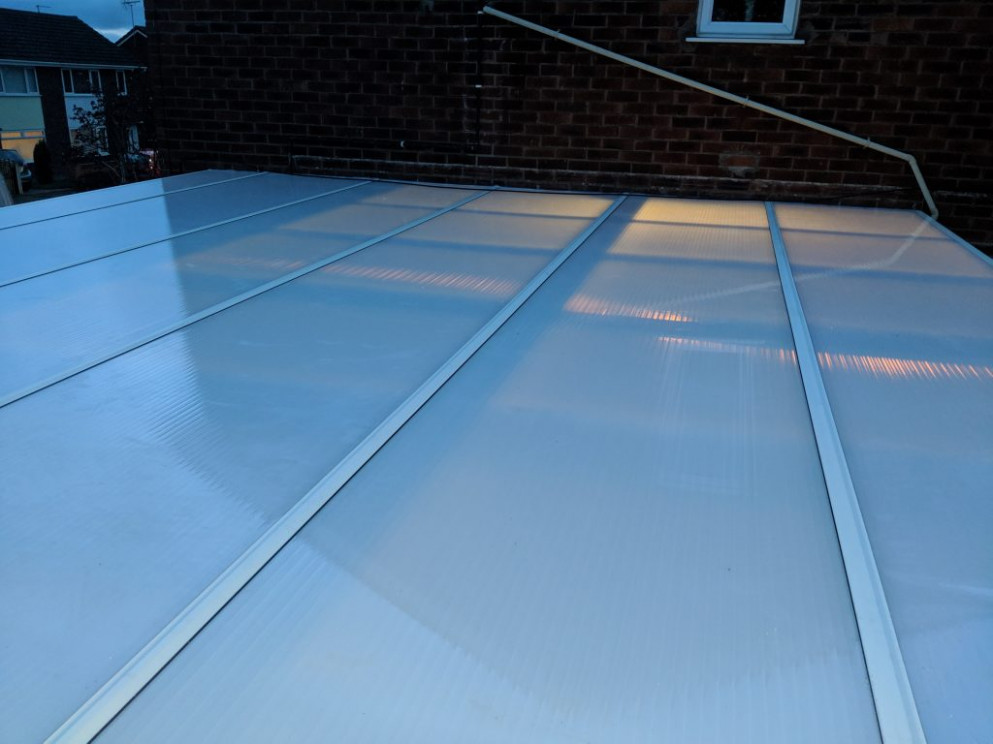 Replacement Polycarbonate Roofs Greenguys 10 U Carport Roof Leaking