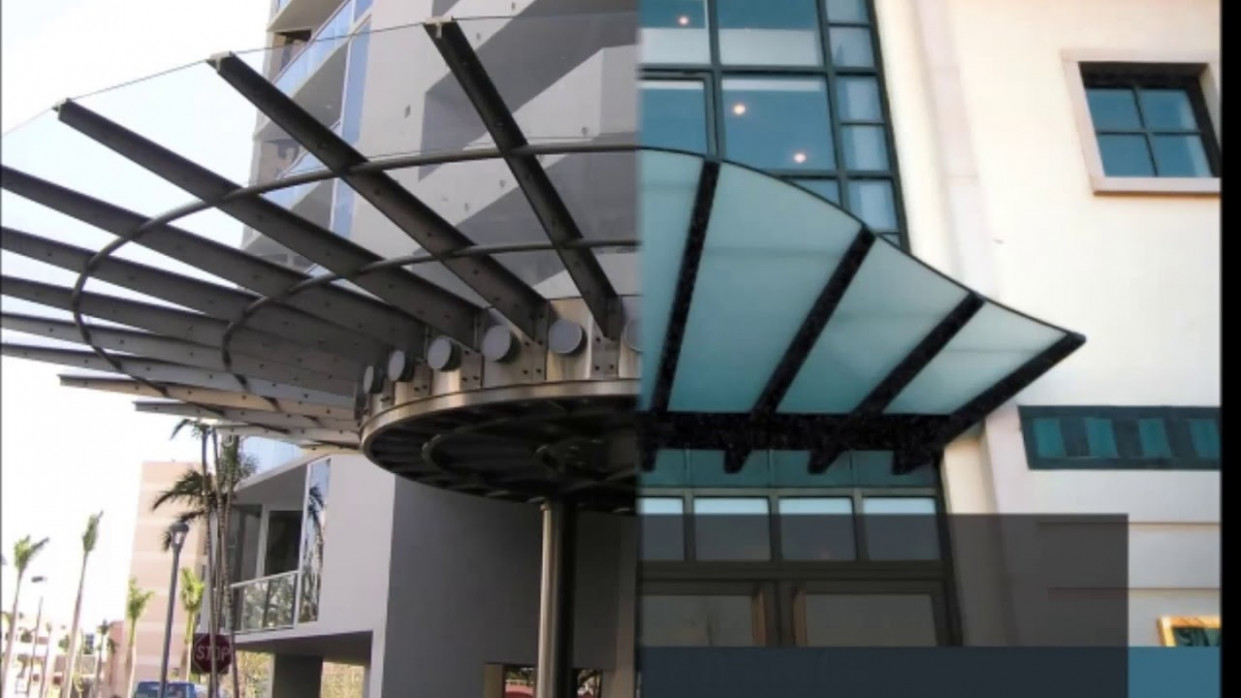 Residential Glass Canopy Examples, Structural Glass Canopy Design, Suspended Glass Canopy In India Carport Glass Canopy