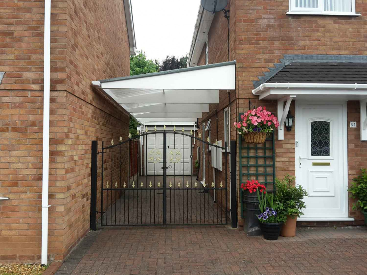 Residential Proport Canopies Apex Roof Carports