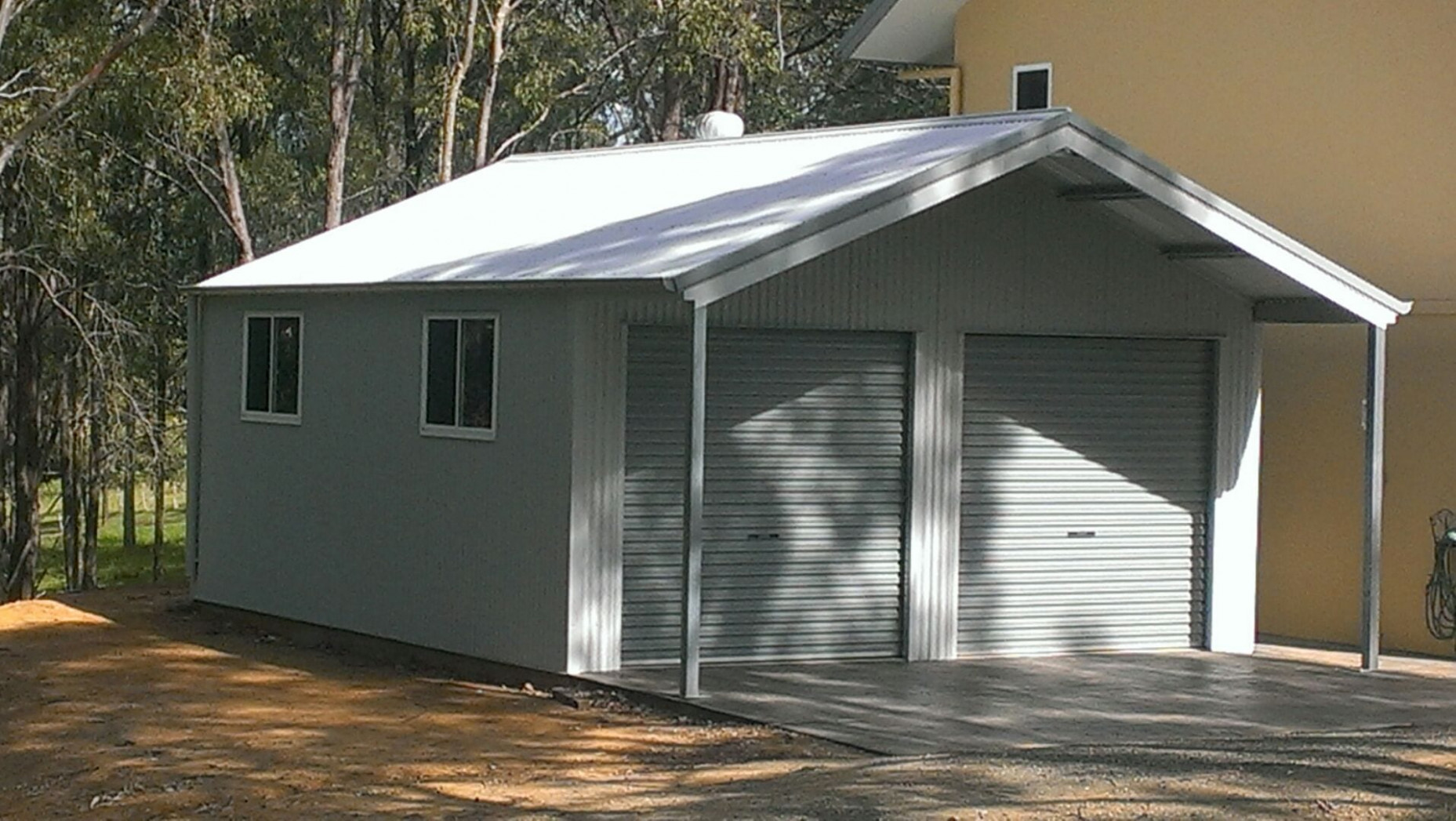 Residential Sheds | All Steel Sheds And Construction Carports Garages Sheds