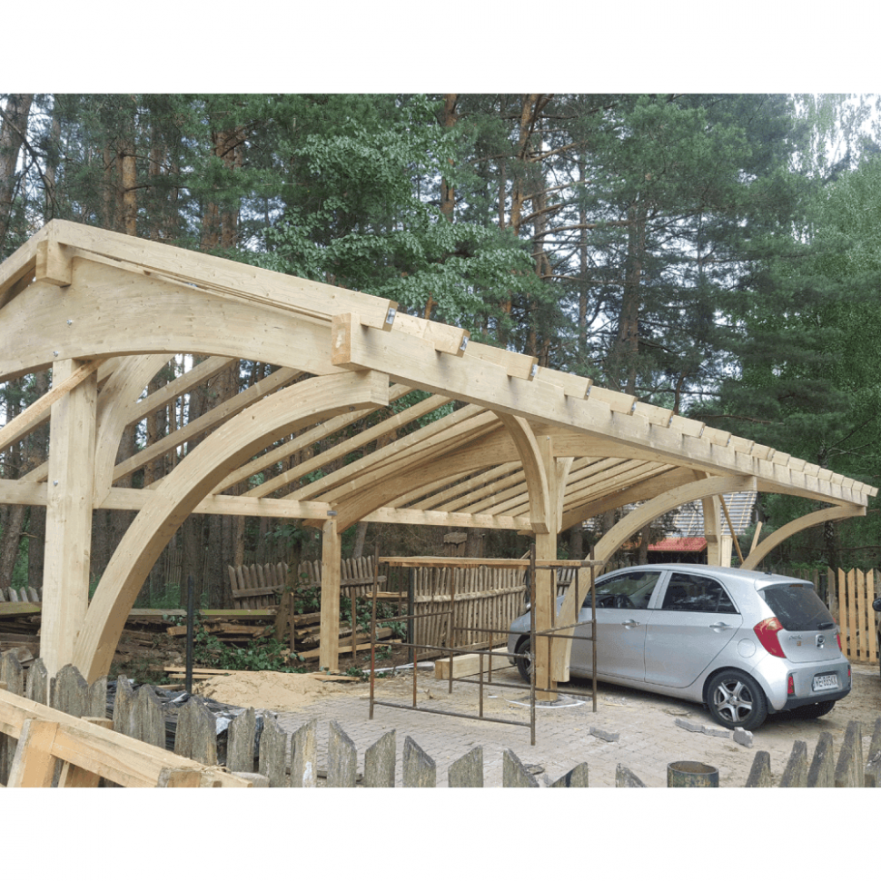 Revelatio IV Carport Wooden Carport With Room Above