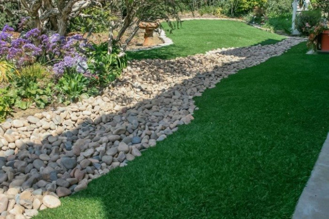 River Rock Landscaping Ideas | Wearefound Home Design Inexpensive Carport Ideas