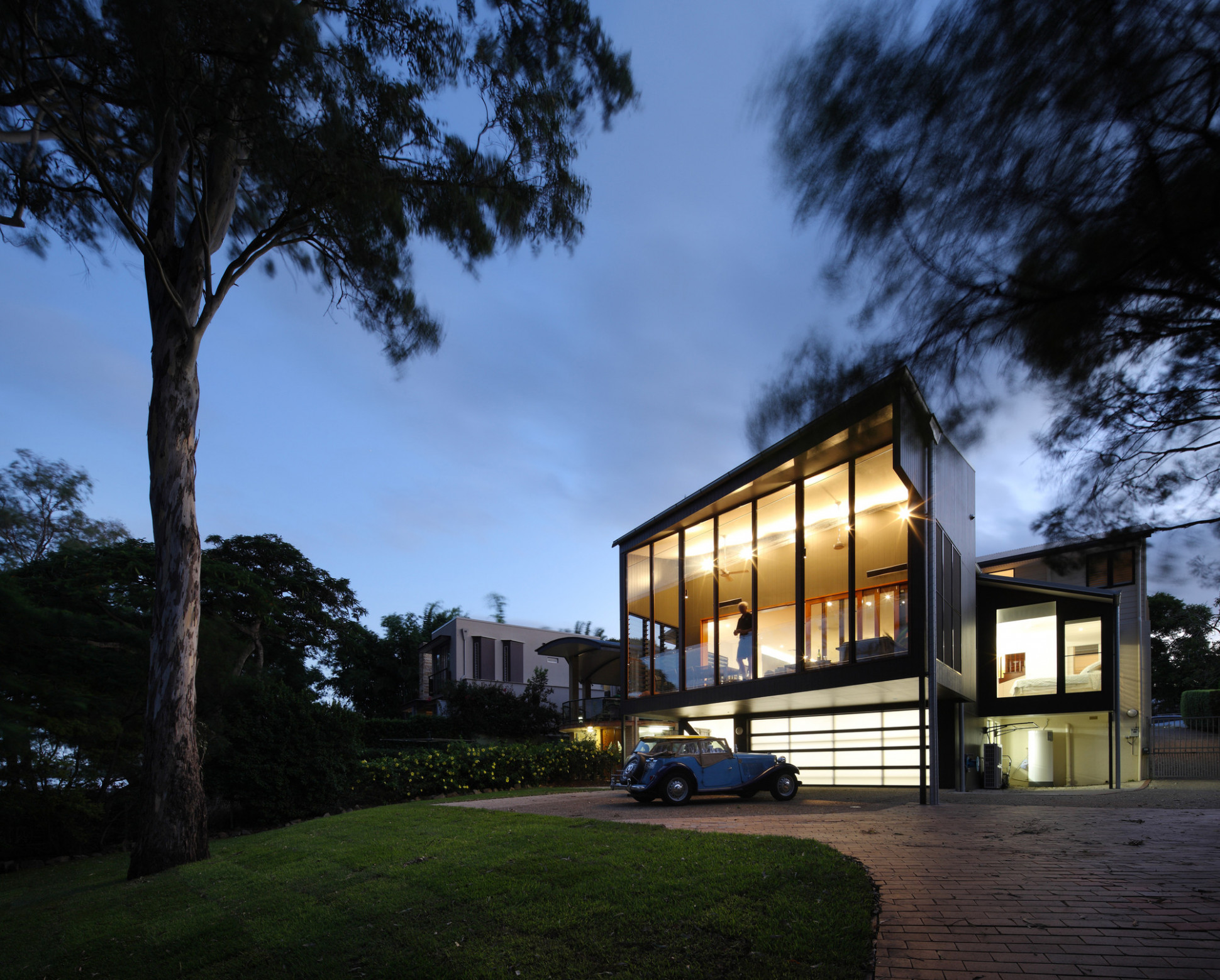 River Room / Shaun Lockyer Architects | ArchDaily Carports Contemporary Events