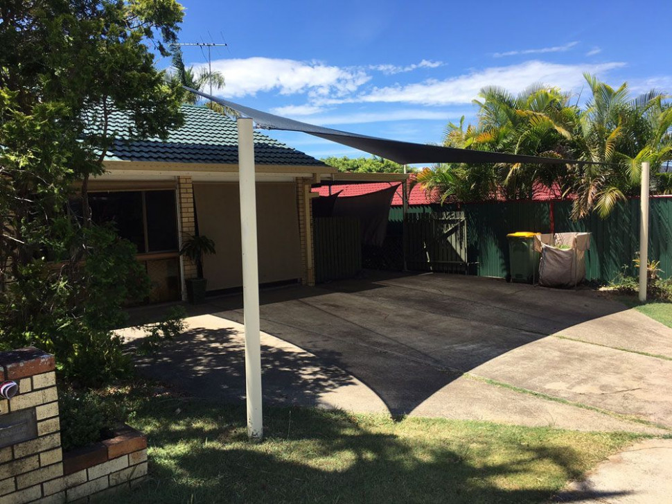 Rochedale, Brisbane: Installed Shade Sail For Carport ..