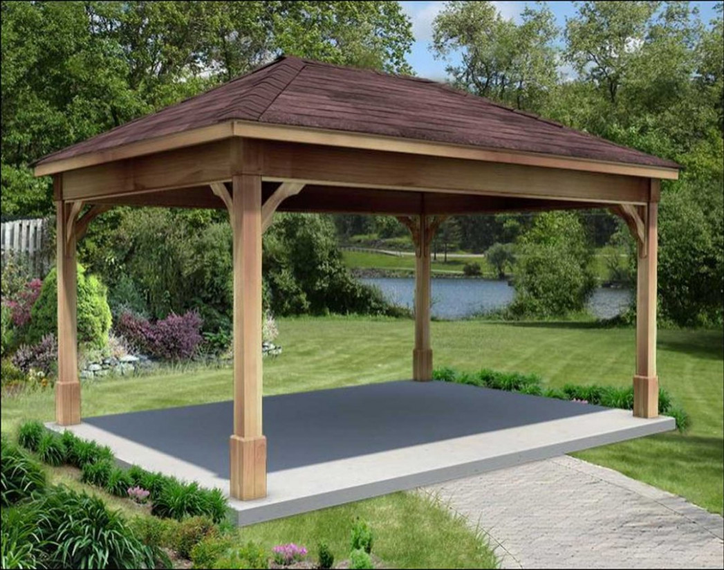 Roof Kits For Gazebos Retractable Deck Shade Best Cheap ...
