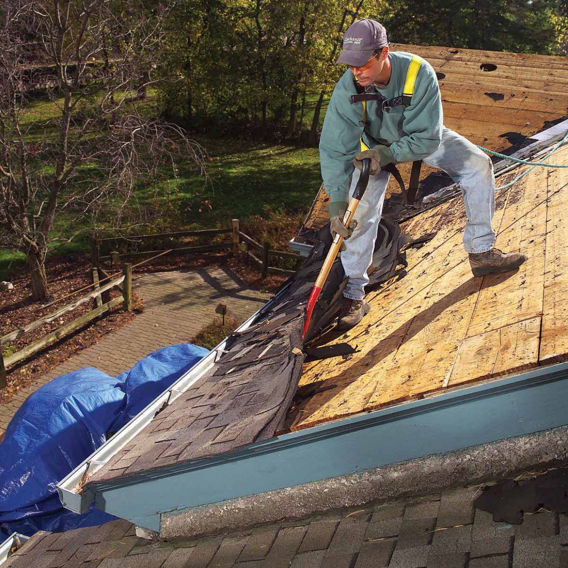 Roof Removal: How To Tear Off Roof Shingles With Roofing ..
