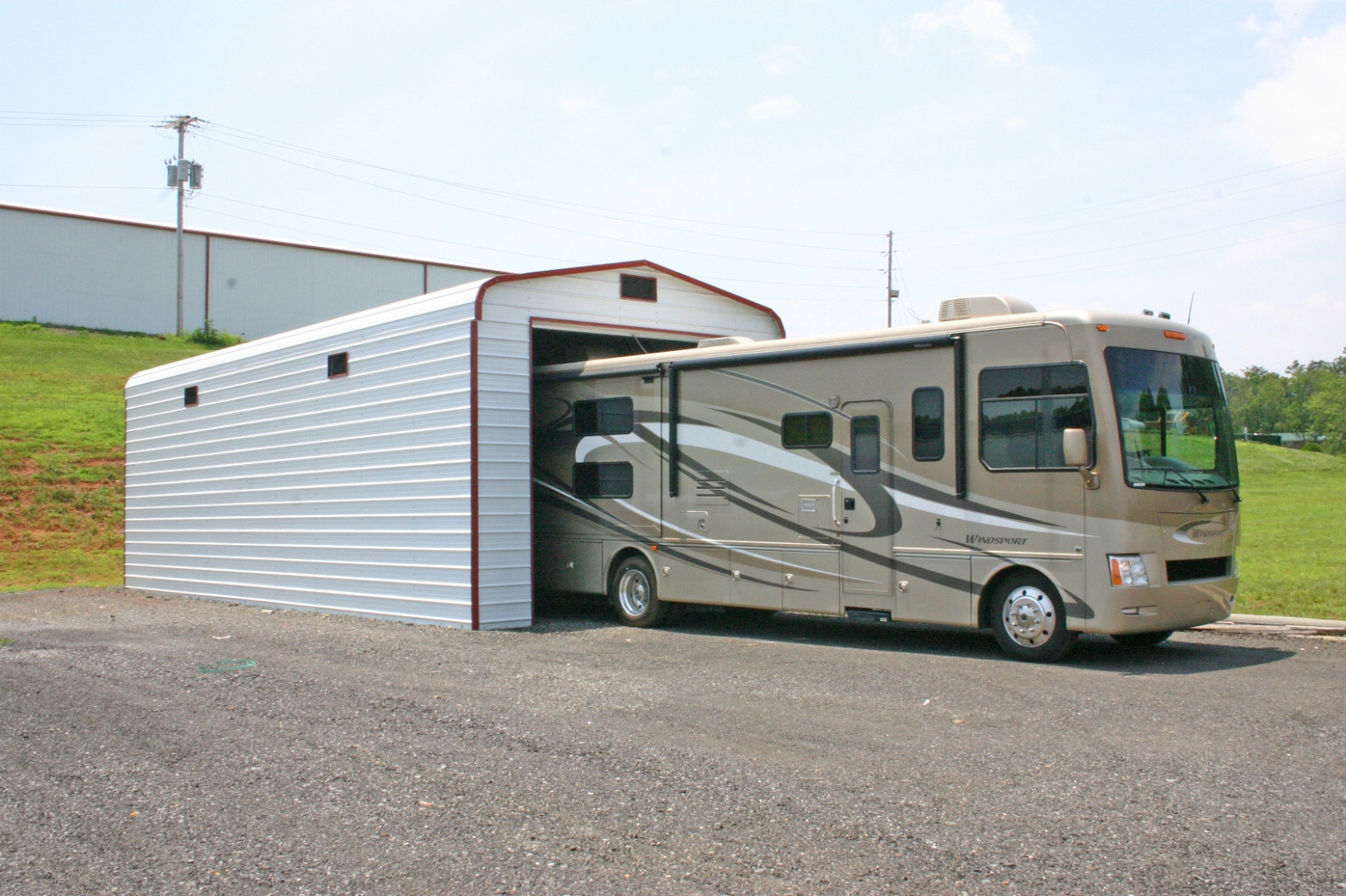 RV Covers And Camper Covers, Metal Carports, And Garages Garage And Carport
