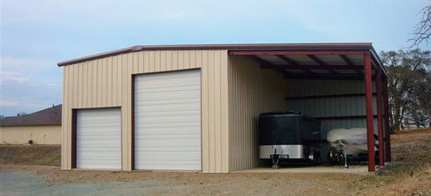RV Garages Top 12 Metal RV Garage Plans | General Steel Drive Through Carport Garage