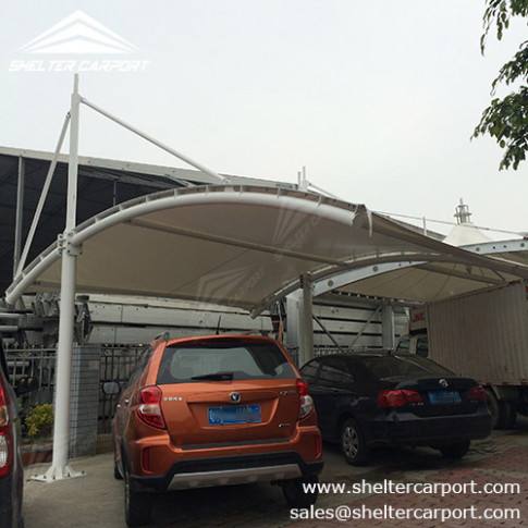SCA05 Car Parking Shade Outdoor Shed Structures ..