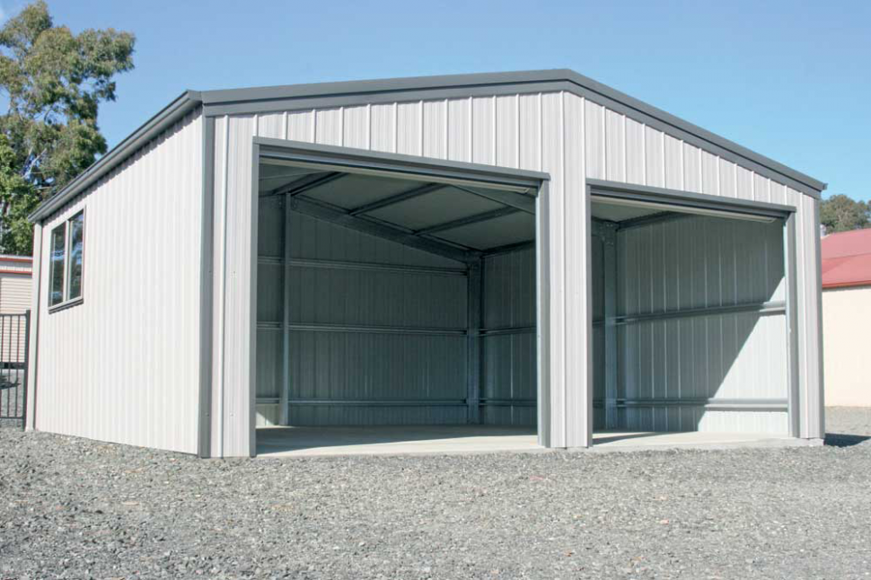 Shed Garages For Sale | Large & Industrial Garages Double Garage Carports