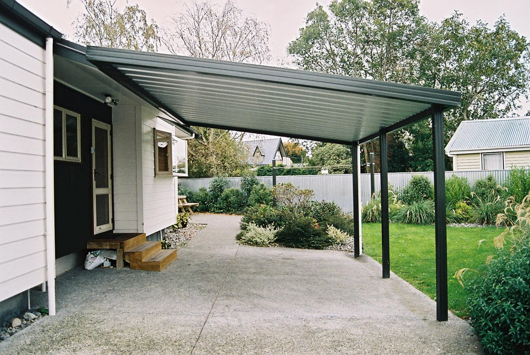 Shed Roof Carport | Ideas For Bennett House In 9 ..