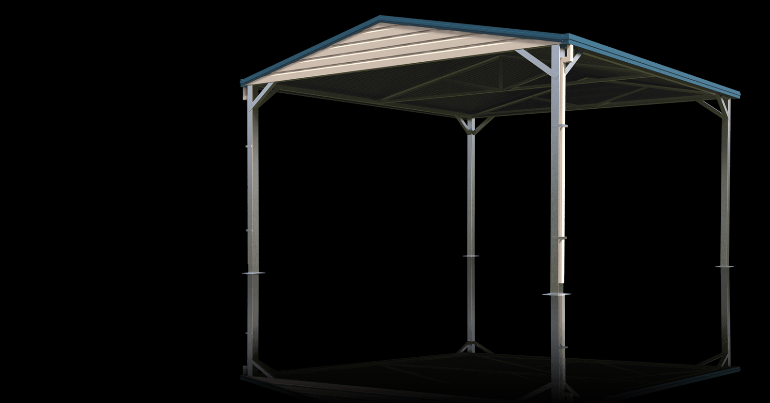 Sheds And Garages Guaranteed By Titan Garages & Sheds Flat Roof Carports Perth