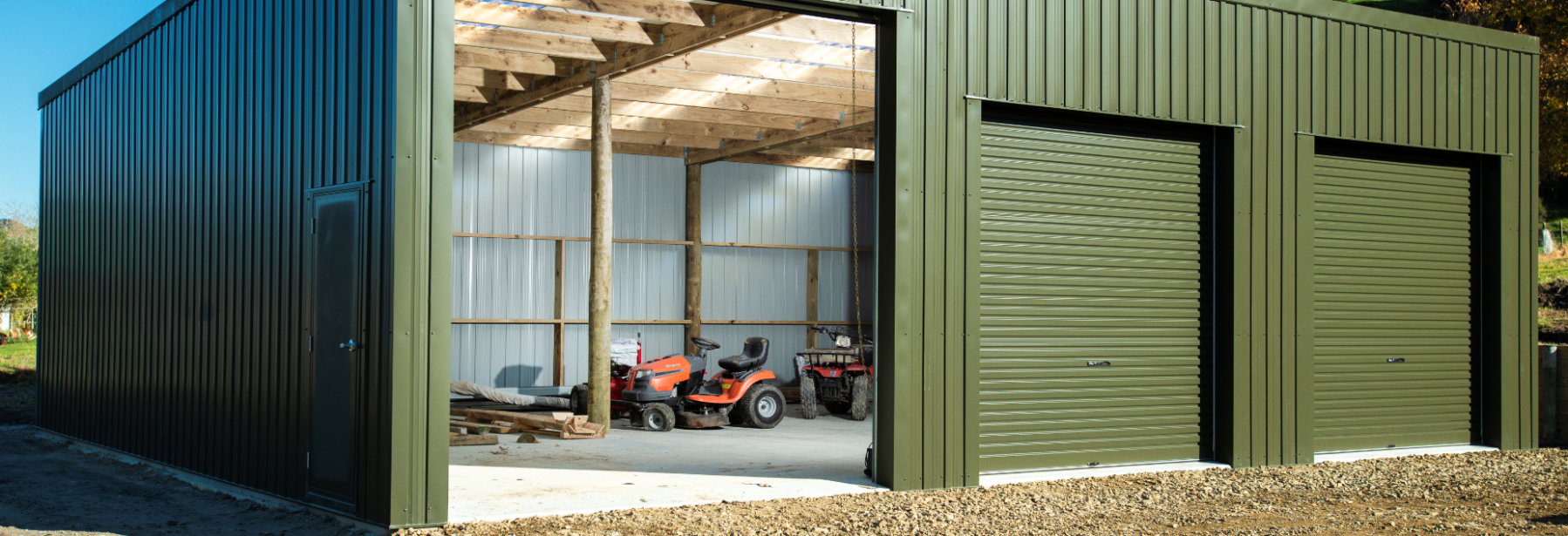 Sheds For Sale | Custom Timber Pole Sheds & Barns | Sheds9u NZ Convert Carport To Garage Nz