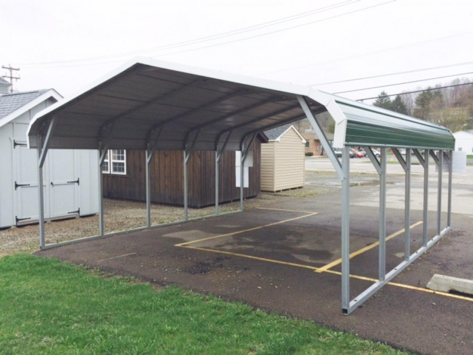 Sheds In Binghamton, NY | Pine Creek Structures Wooden Carport Kits For Sale Canada
