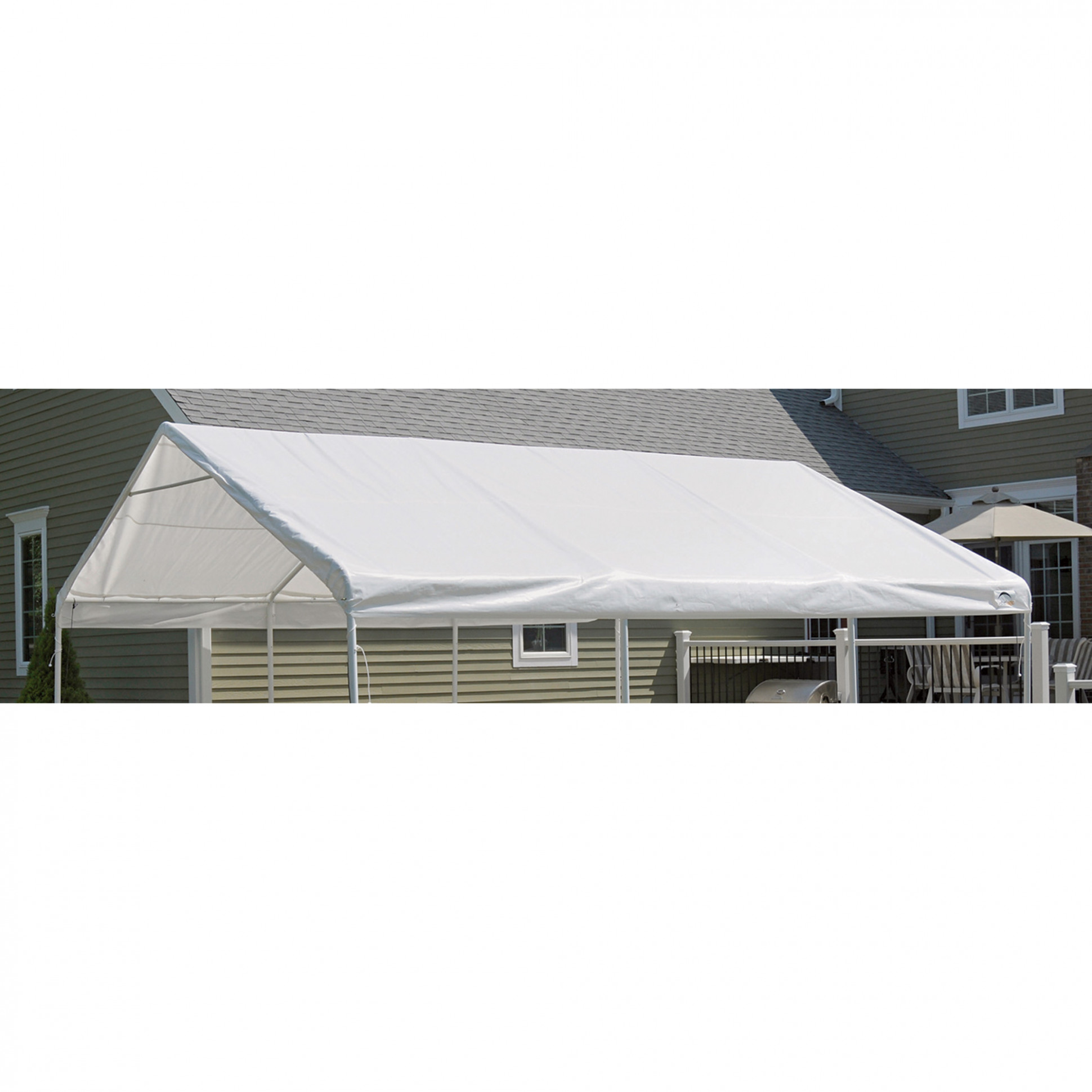 ShelterLogic Replacement Outdoor Canopy Tent Top — 18ft. X ..
