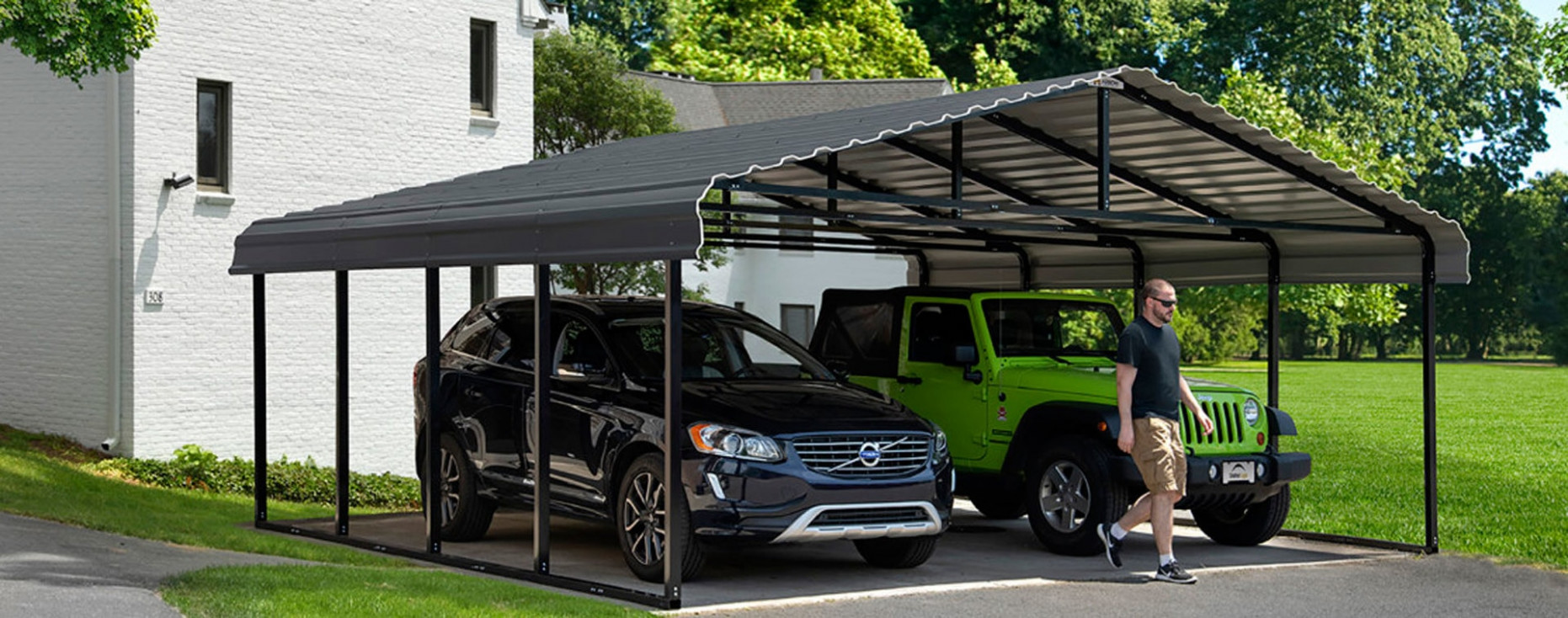 Shelters Of New England, Portable Garages, Carports And ..