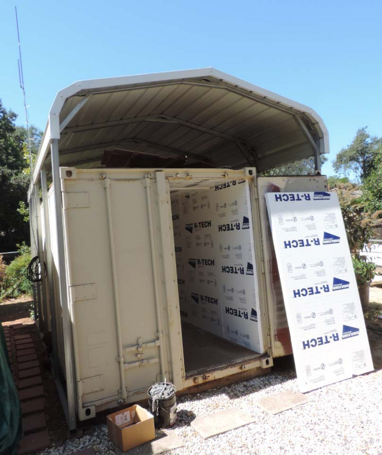 Shipping Containers And How To Insulate Them How To Insulate A Carport Garage