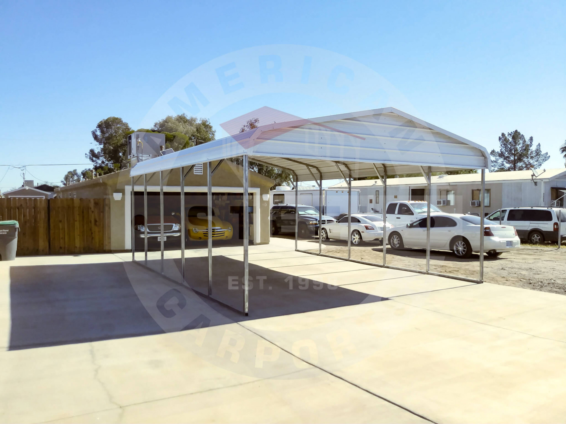 Simple Is Enough American Steel Carports, Inc