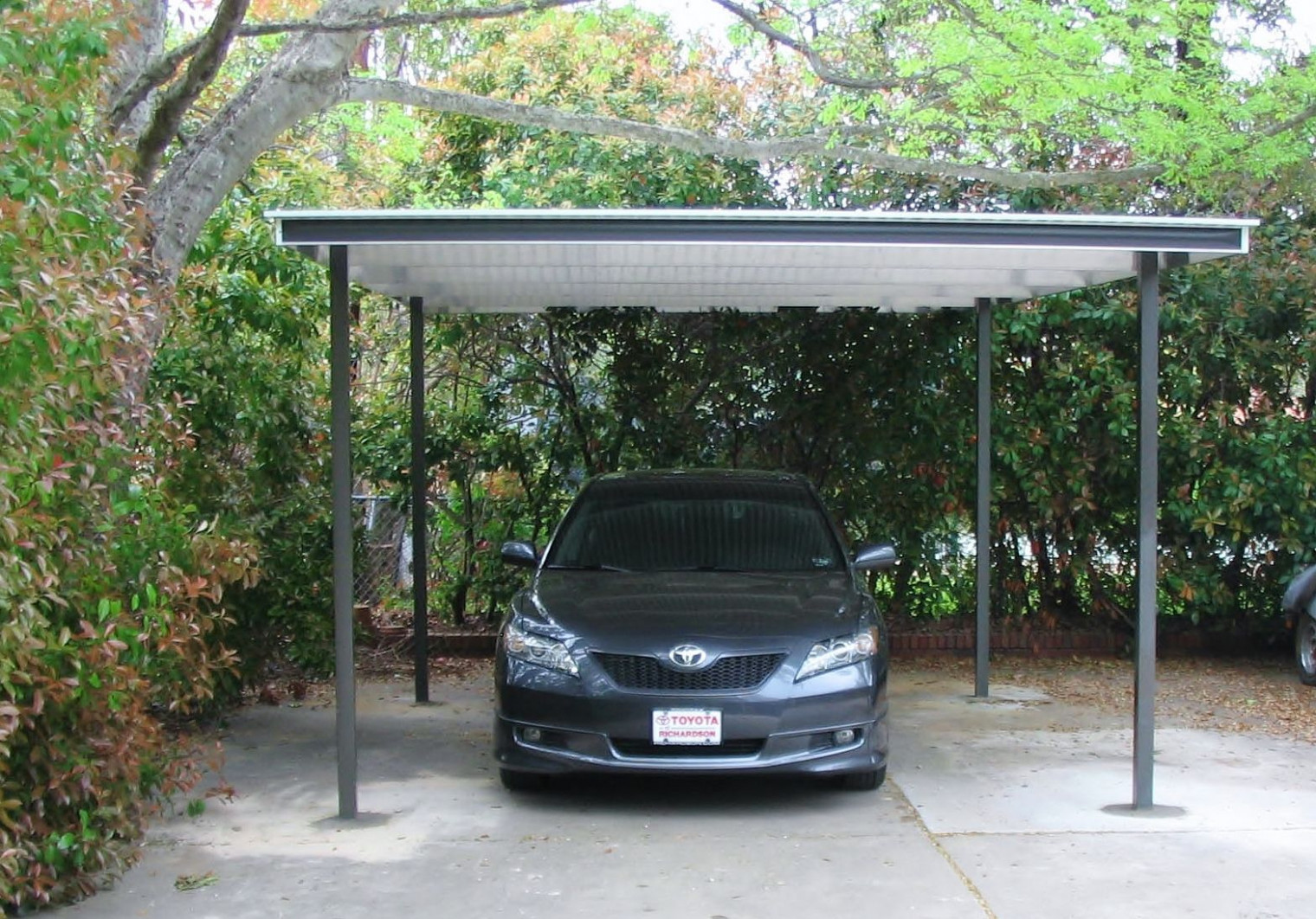 Single Freestanding Carport 13x13 Modern Home Patio Company ..