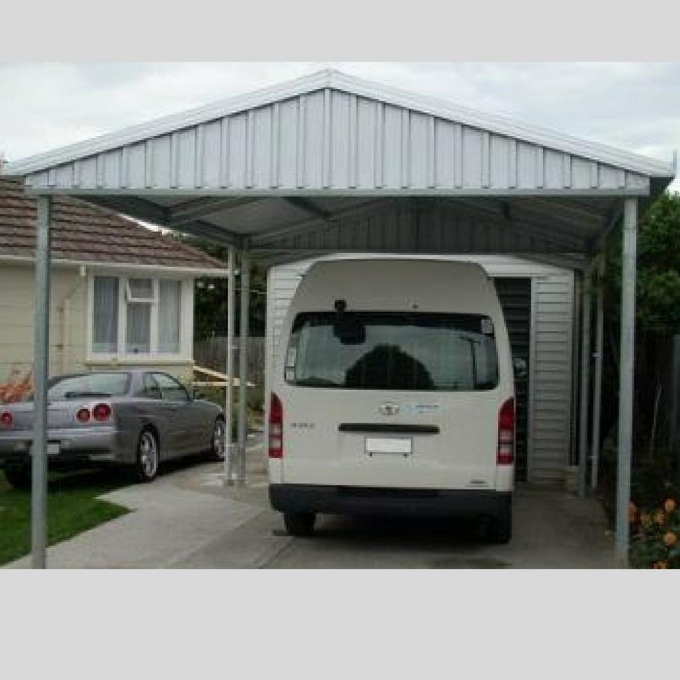 Single Gable Roof Budget Carport👍 – Car Covers And Shelter Gable Roof Carports