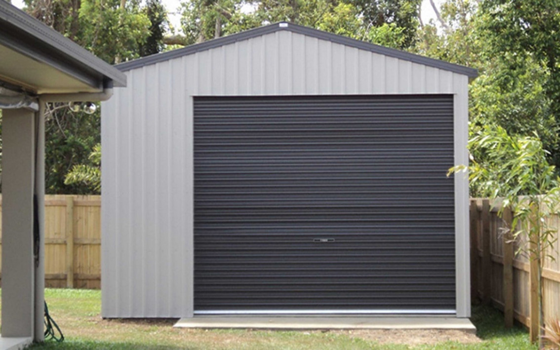 Single Garages Built For Life   Totalspan New Zealand One Car Garage With Carports