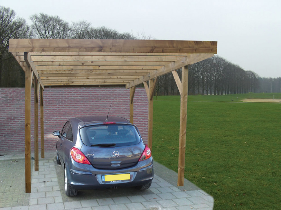 Single Lean To Or Freestanding Timber Carport Carports Canopy Images