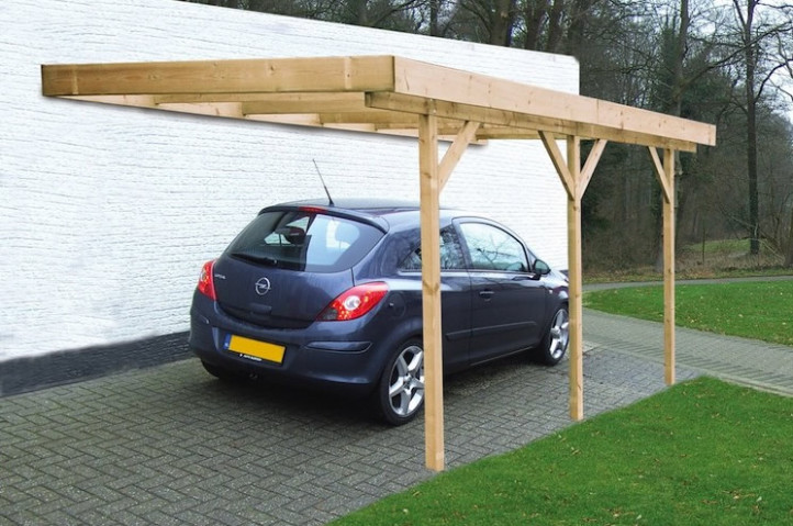 Single Lean To Or Freestanding Timber Carport Lean To Carport Ideas