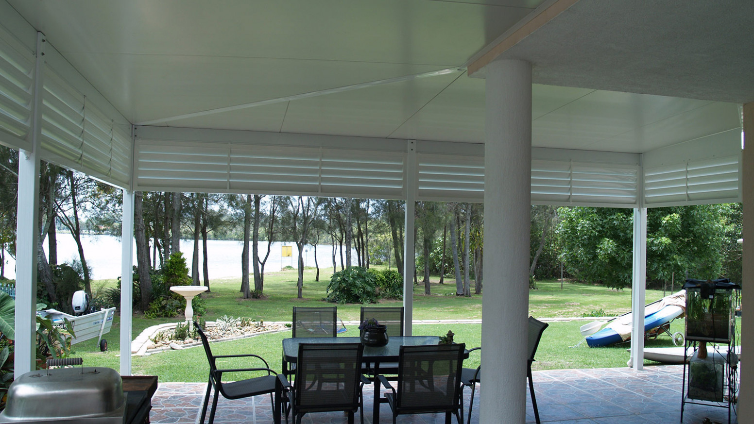 Skillion/Flat Patio Roofs Ballina, Lismore, Byron Bay, Casino Carport Living Roof