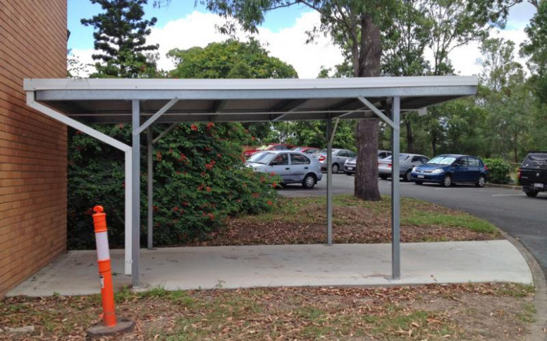 Skillion Roof Carport 929 Carports Parking Qld