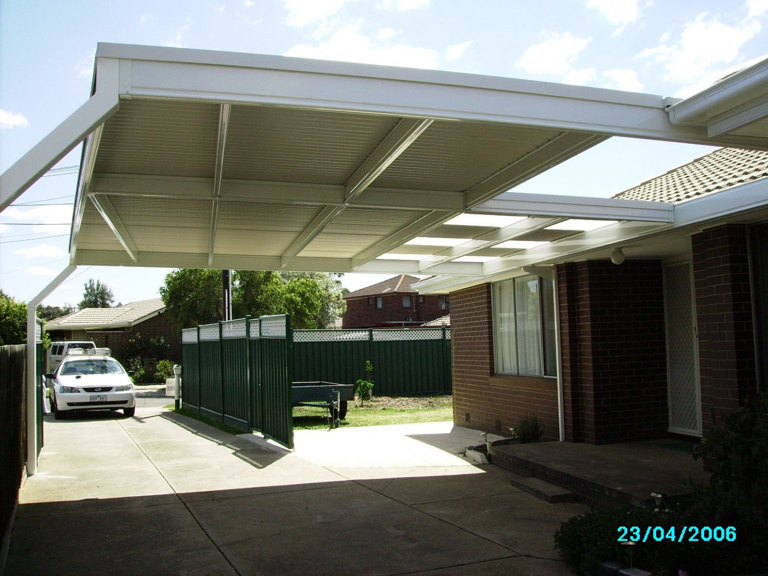 Skillion Roof Carport | Skillion Root Structure Is A Cost ..
