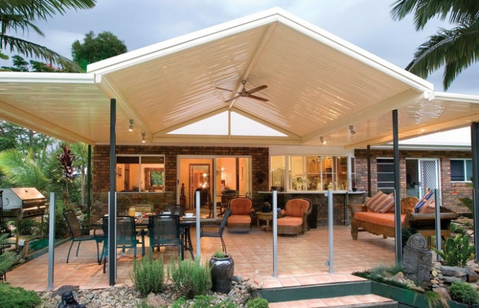 Skillion Roof Carport Spanline Roofing Patio Best Types ..