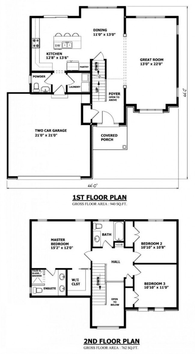 Small House Plans With Garage Plan Amples Attached Carport ..