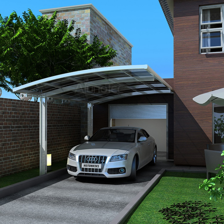 Snow Resistance Polycarbonate Roof Aluminum Carport Buy ..