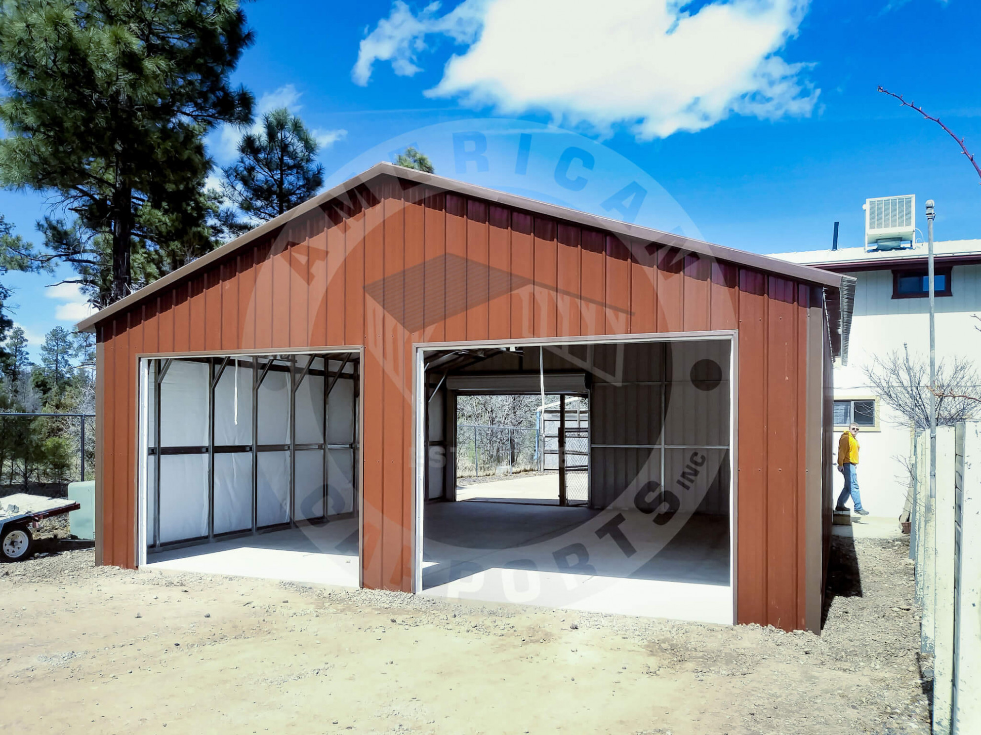 So Many Options To Enhance Your Metal Building American ..