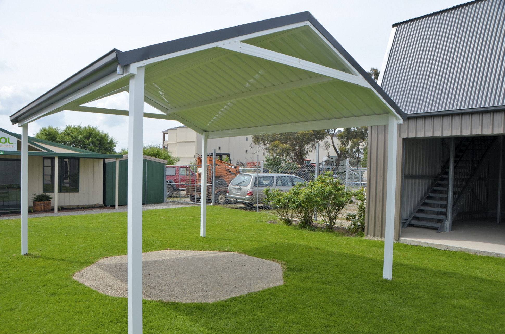 SOL Home Improvements, Gallery Of Steel Roof Styles Carport Attached To Hip Roof