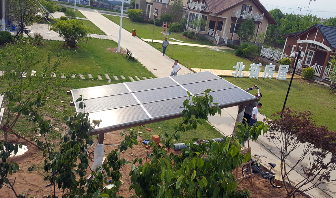 Solar Carport Kit Made With Aluminum Frame For Double Cars ..