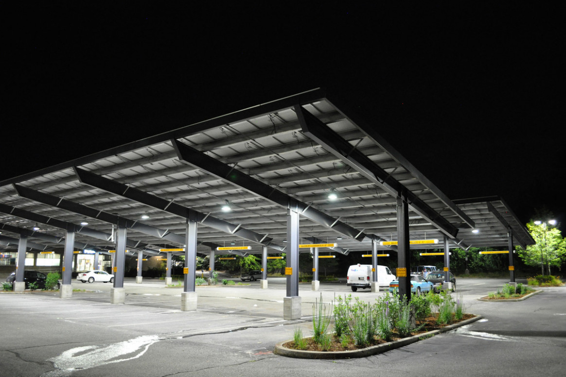 Solar Carports | Commercial Solar Carport Design & Installation Parking Lot Carport