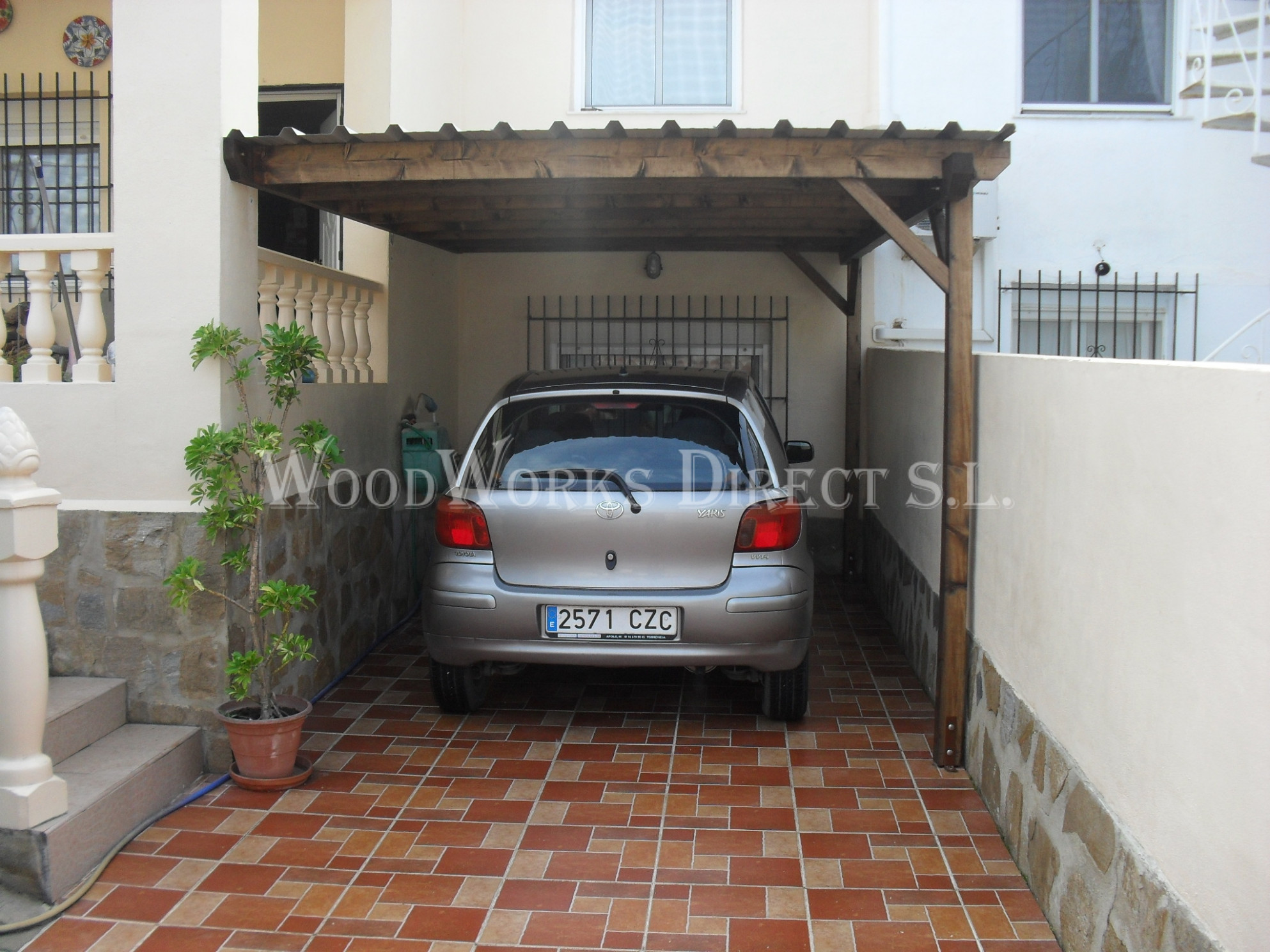Solid Wooden Carports By WoodWorks Direct | Woodworks Direct Modern Timber Carport