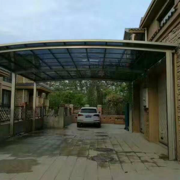 Source Freesky Aluminum Car Parking Shed With Unbreakable ..
