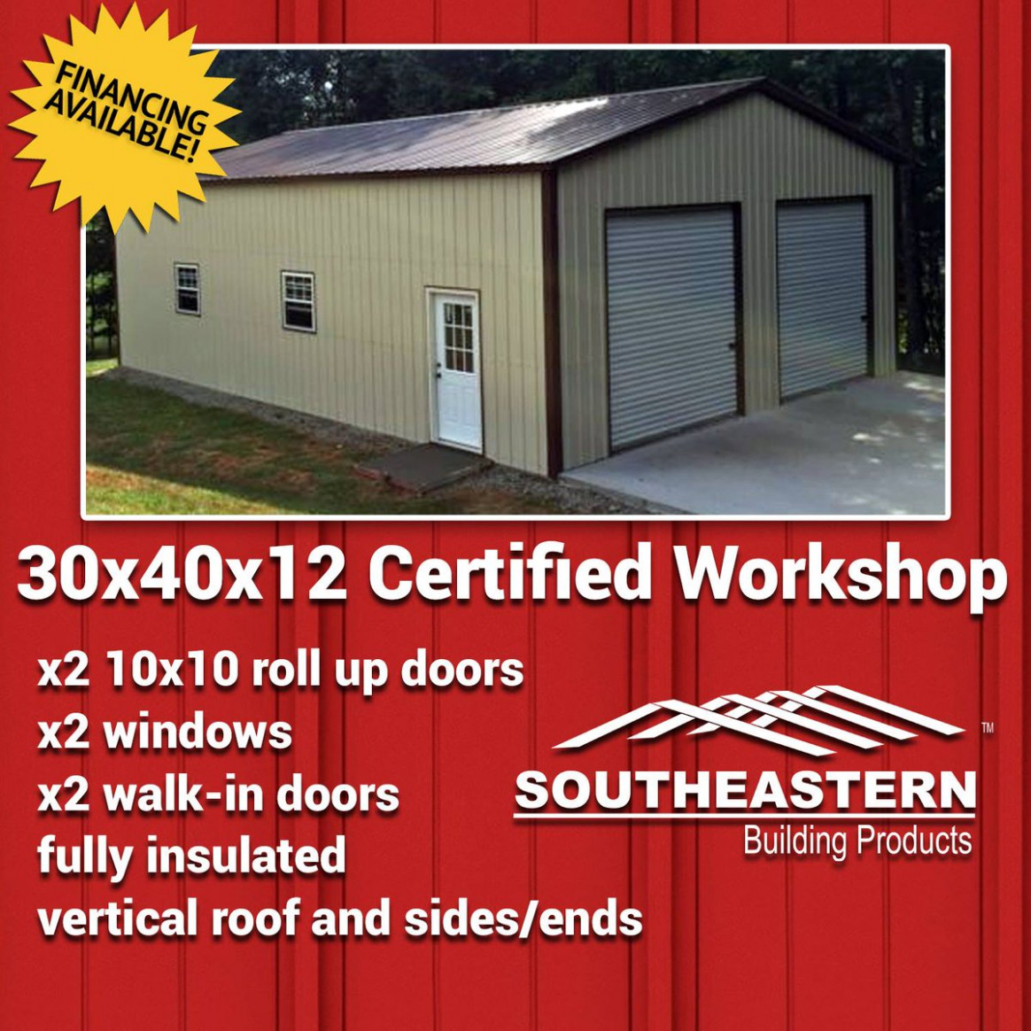 """SoutheasternBuilding On Twitter: """"Metal Building Material .."""