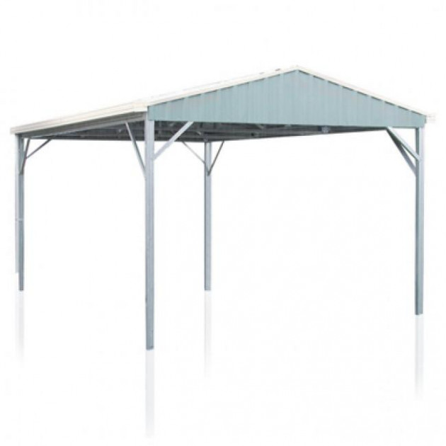 Spanbilt YardPro 3.96m X 5.91m Single Gable Roof Carport ..